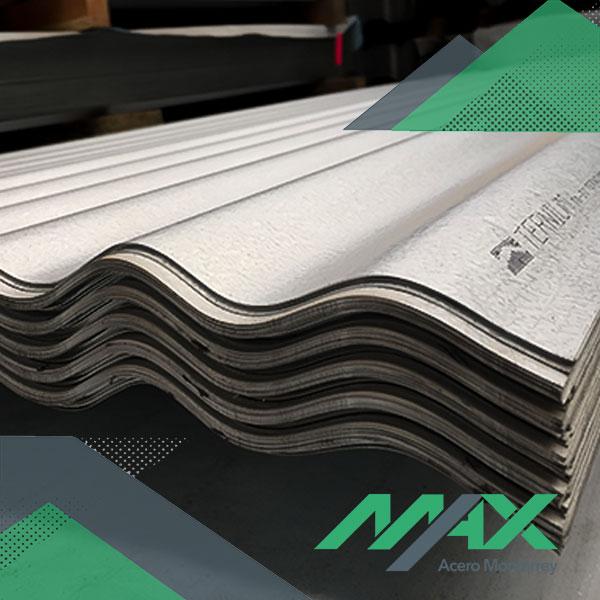 Lámina acanalada O100 zintro alum Ternium Max Acero Monterrey
