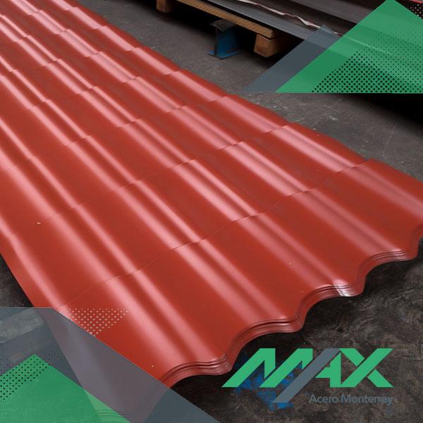 Lámina galvateja Ternium Max Acero Monterrey