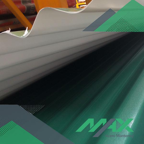 Lámina O100 pintro Ternium Max Acero Monterrey