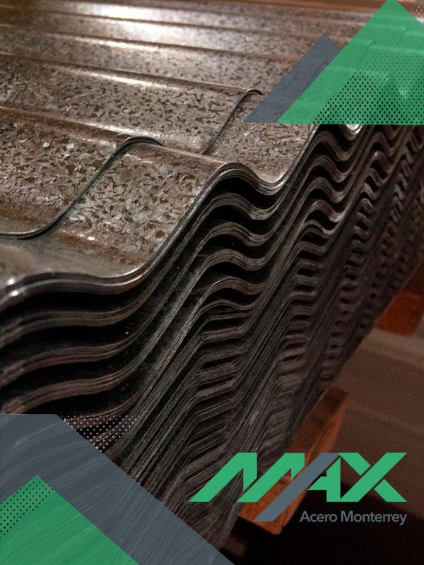 Lámina O-100 zintro Ternium Max Acero Monterrey