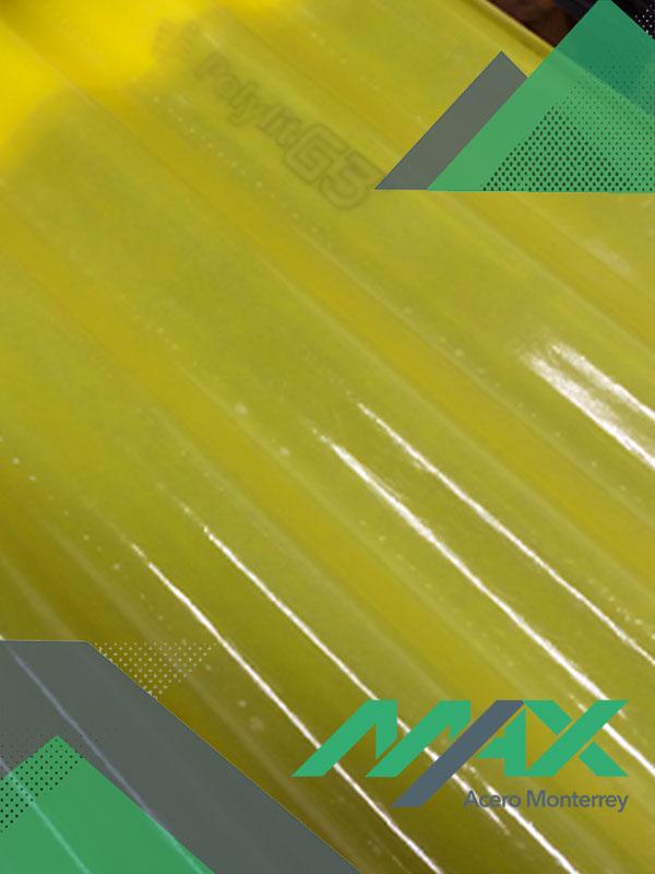 Lámina Traslucida polylit g3 Max Acero Monterrey