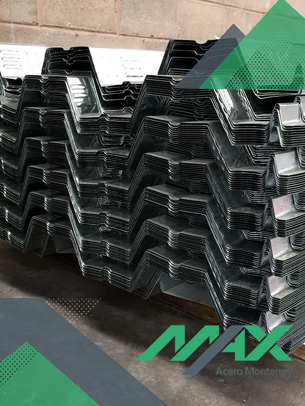 Losacero 30; lámina losacero Ternium sección 30 con galvanizado zintro.