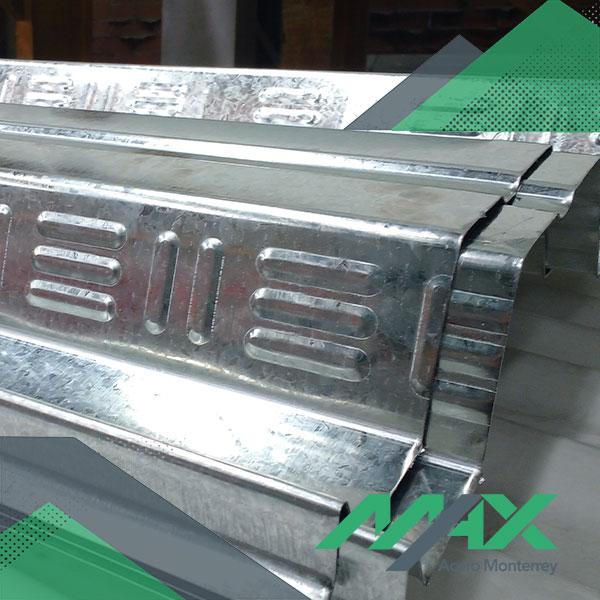 Losacero sección 25; lámina losacero galvanizada zintro para entrepisos metálicos.