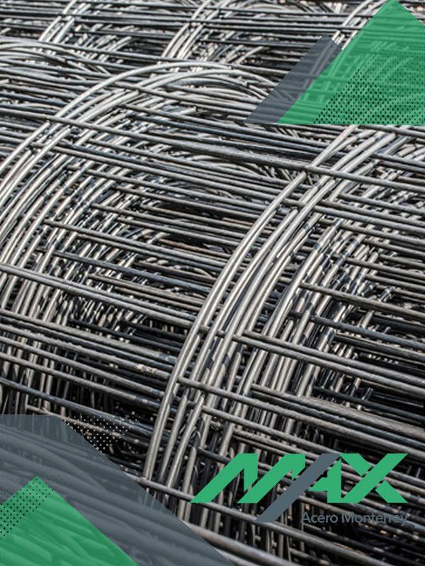 Malla electrosoldada de acero, venta de variedad de materiales acero corrugado.
