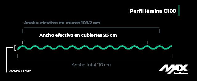 perfil-lamina-o100-MaxAceroMonterrey