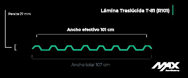 perfil-lamina-traslucida-T-81-(R101)-MaxAceroMonterrey