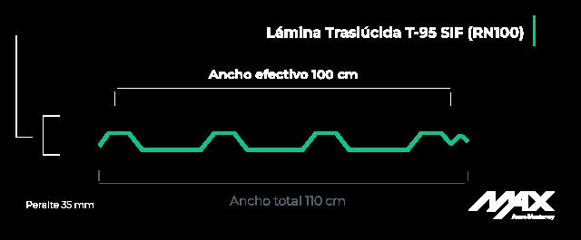 perfil-lamina-traslucida-T95-sif-RN100-MaxAceroMonterrey