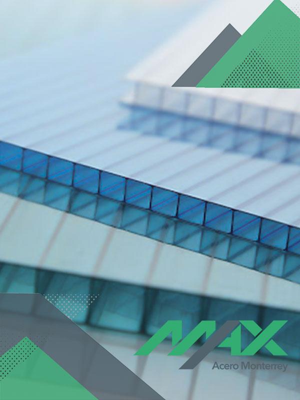 policarbonato celular Max Acero Monterrey