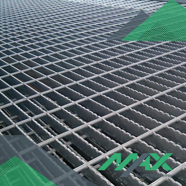 Rejilla electroforjada de acero, venta en Max Acero Monterrey.