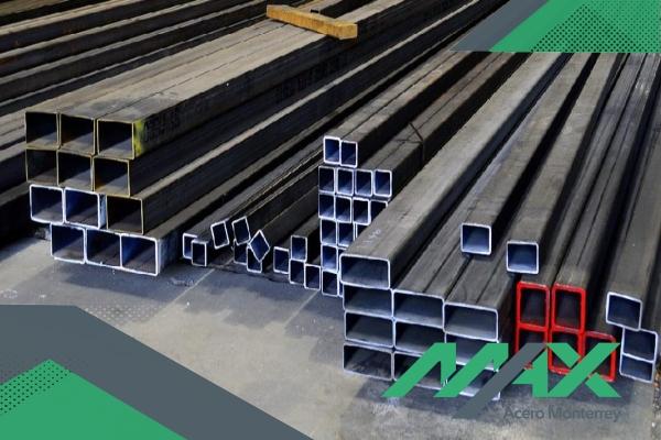 Venta de perfil de acero comercial PTR, perfil ideal para construcción de estructuras ligeras.
