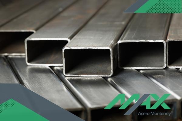 Perfil PTR de acero para construcciones ligeras.